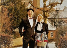 Boerenbruidspaar 2017 Dion Megens en Laura Franssen