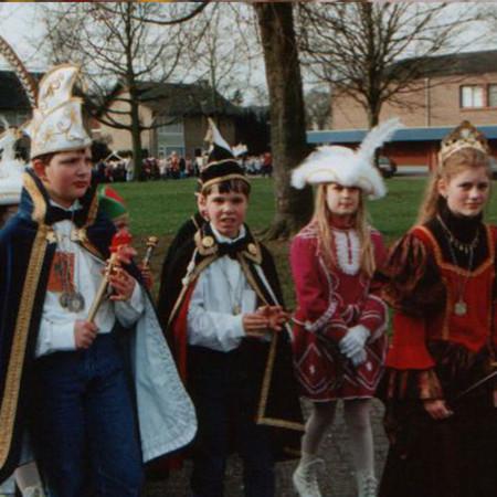 1998 Jeugdprins(es) Huub van Aar en Sanne van Susteren