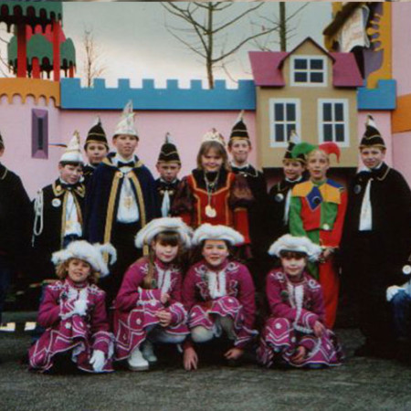 2000 Jeugdprins(es) Jordi Arnts en Danique de Louw