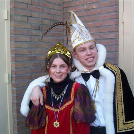2003 Jeugdprins(es) Maikel Witjes en Lisanne Broes