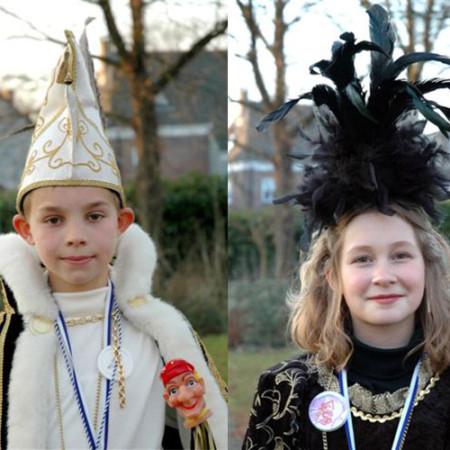 2005 Jeugdprins(es) Floris vd Poel en Baukje Verkuijlen