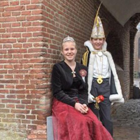 2006 Jeugdprins(es) Robin de Louw en Amber de Louw