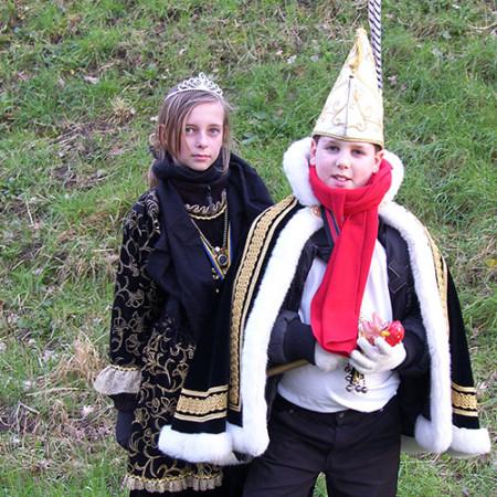 2007 Jeugdprins(es) Kay Roelofs en Larissa Roelofs