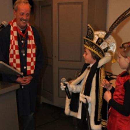 2010 Jeugdprins(es) Lukas Hooghof en Fleur Beerens